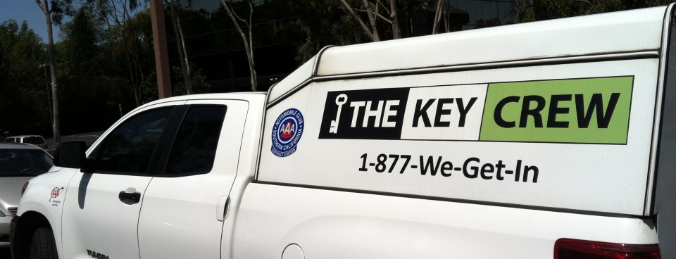 The Key Crew – Service Vehicle